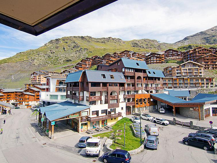 Holiday in mountain resort 1 room apartment 4 people (12) - Les Cîmes de Caron - Val Thorens - Accommodation