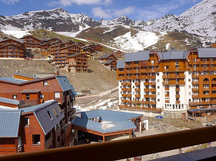 Holiday in mountain resort 1 room apartment 4 people (19) - Les Cîmes de Caron - Val Thorens - Accommodation
