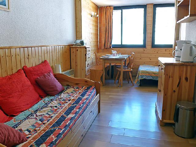 Holiday in mountain resort 1 room apartment 4 people (7) - Les Cîmes de Caron - Val Thorens - Accommodation