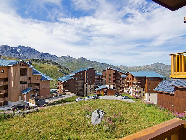 Holiday in mountain resort 1 room apartment 4 people (20) - Les Cîmes de Caron - Val Thorens - Summer outside