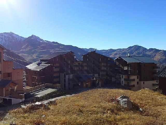 Holiday in mountain resort 1 room apartment 2 people (3) - Les Cîmes de Caron - Val Thorens - Summer outside