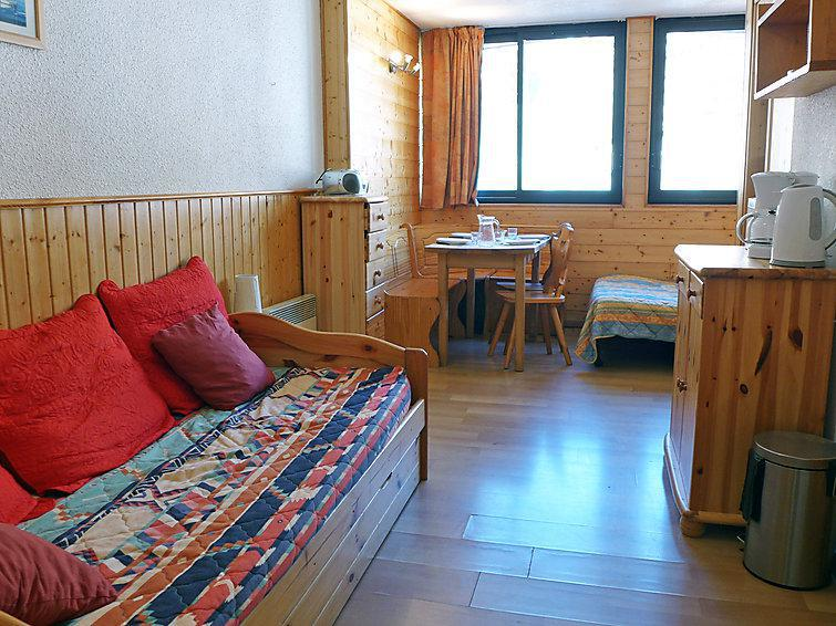 Holiday in mountain resort 1 room apartment 4 people (7) - Les Cîmes de Caron - Val Thorens - Summer outside