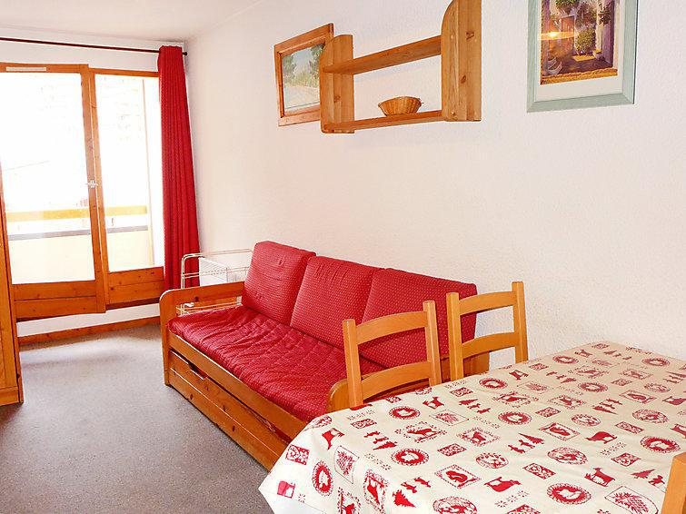 Holiday in mountain resort 1 room apartment 4 people (19) - Les Cîmes de Caron - Val Thorens - Summer outside