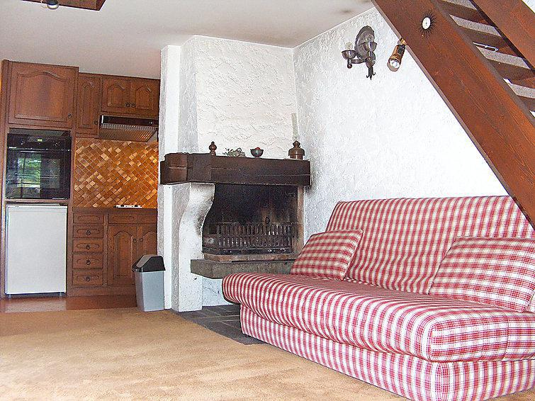 Holiday in mountain resort 1 room apartment 4 people (1) - Les Cluz - Chamonix - Accommodation