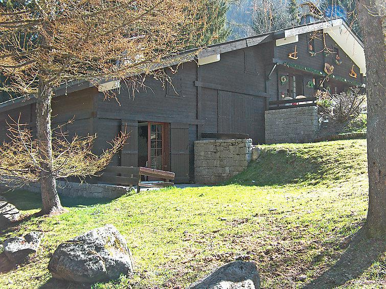 Holiday in mountain resort 1 room apartment 4 people (1) - Les Cluz - Chamonix - Summer outside