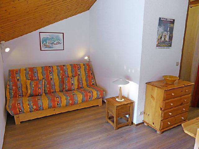 Holiday in mountain resort 1 room apartment 4 people (13) - Les Combettes D et E - Les Contamines-Montjoie - Accommodation