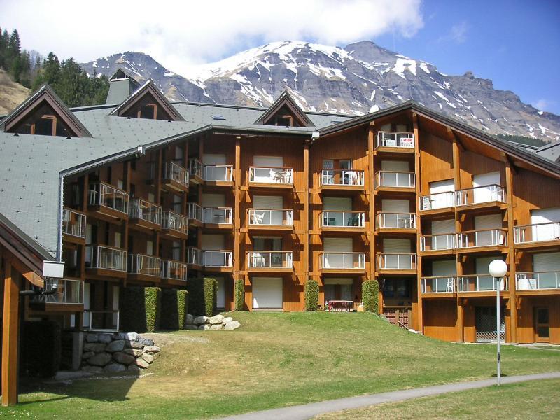 Аренда на лыжном курорте Апартаменты 1 комнат 4 чел. (13) - Les Combettes D et E - Les Contamines-Montjoie - летом под открытым небом