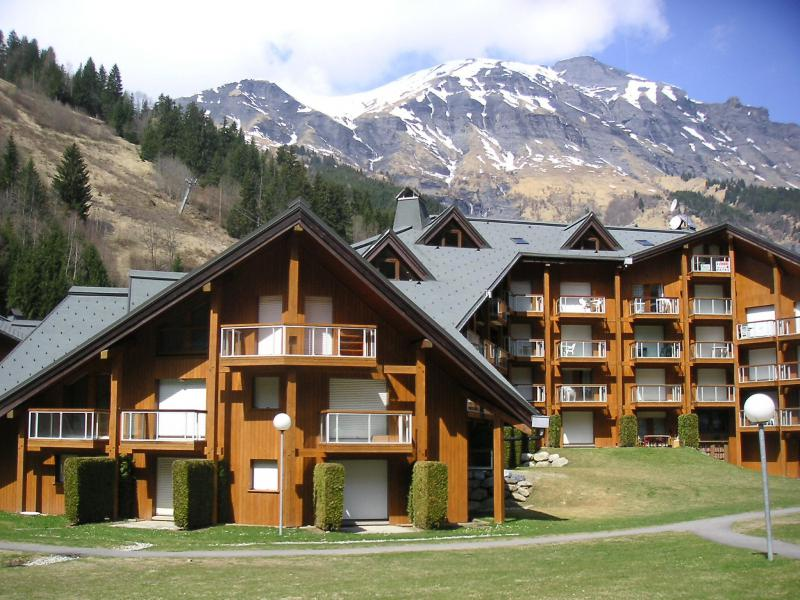 Holiday in mountain resort 2 room apartment 4 people (19) - Les Combettes D et E - Les Contamines-Montjoie - Summer outside