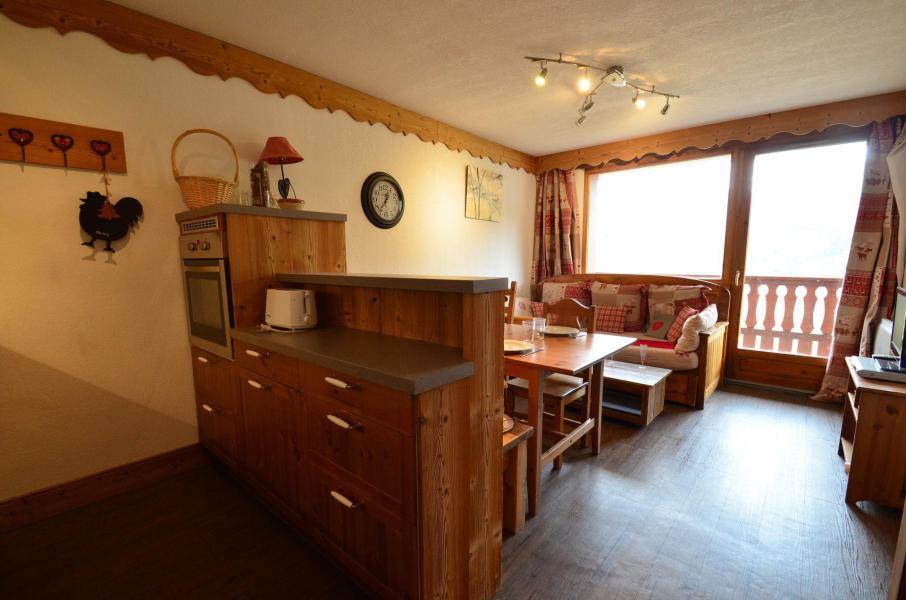 Vacances en montagne Appartement 2 pièces cabine 4 personnes (202) - Les Côtes d'Or Chalet Argentière - Les Menuires - Séjour