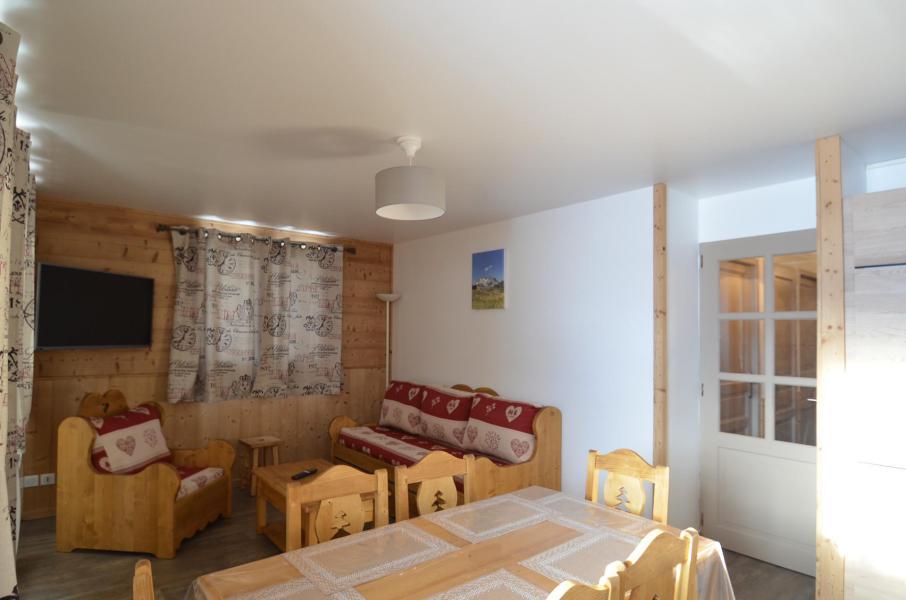 Vacances en montagne Appartement 3 pièces 4-6 personnes (101) - Les Côtes d'Or Chalet Argentière - Les Menuires - Séjour