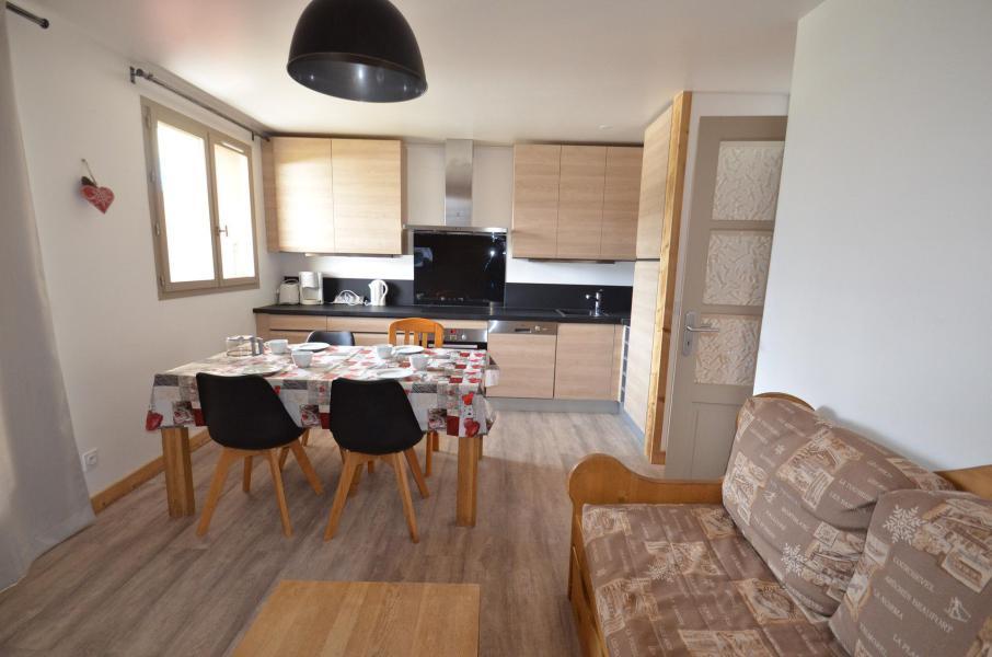 Vacances en montagne Appartement 3 pièces 4-6 personnes (303) - Les Côtes d'Or Chalet Argentière - Les Menuires - Séjour