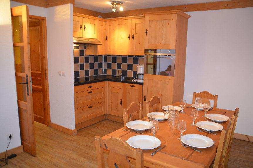 Vacances en montagne Appartement 3 pièces 6 personnes (201) - Les Côtes d'Or Chalet Argentière - Les Menuires - Logement