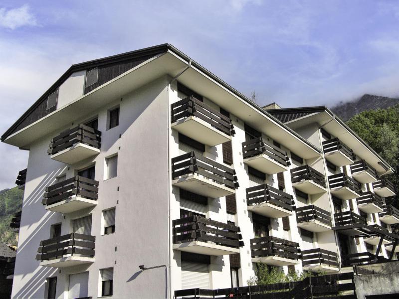 Wakacje w górach Apartament 1 pokojowy 4 osób (1) - Les Esserts - Les Houches - Na zewnątrz latem