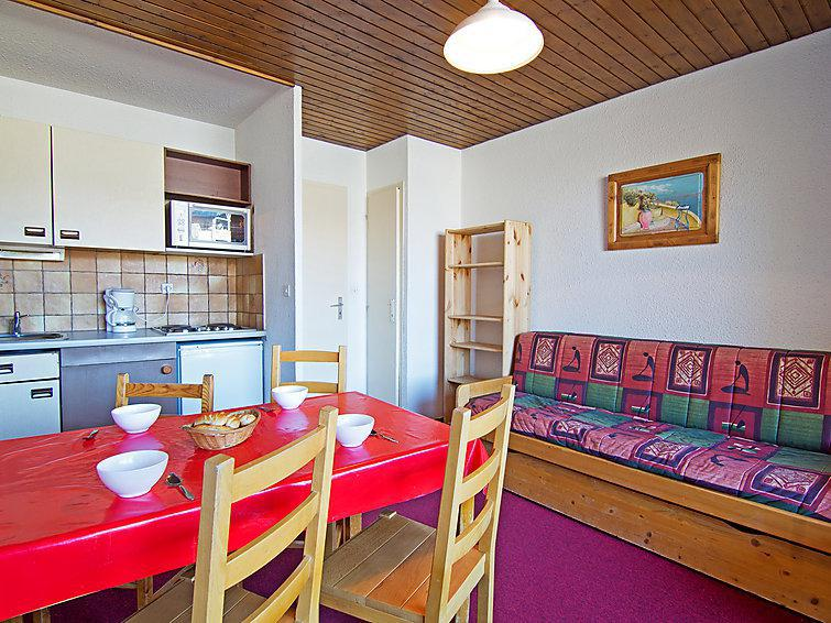 Holiday in mountain resort 1 room apartment 4 people (1) - Les Eterlous - Val Thorens - Summer outside