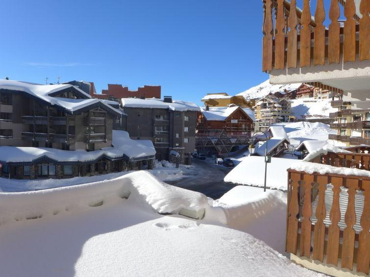 Vakantie in de bergen Appartement 1 kamers 4 personen (1) - Les Eterlous - Val Thorens - Verblijf