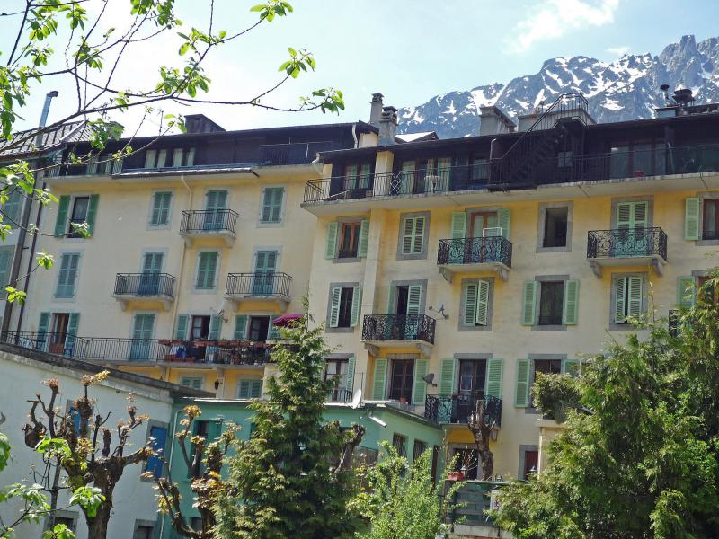 Holiday in mountain resort 1 room apartment 4 people (3) - Les Evettes - Chamonix - Summer outside