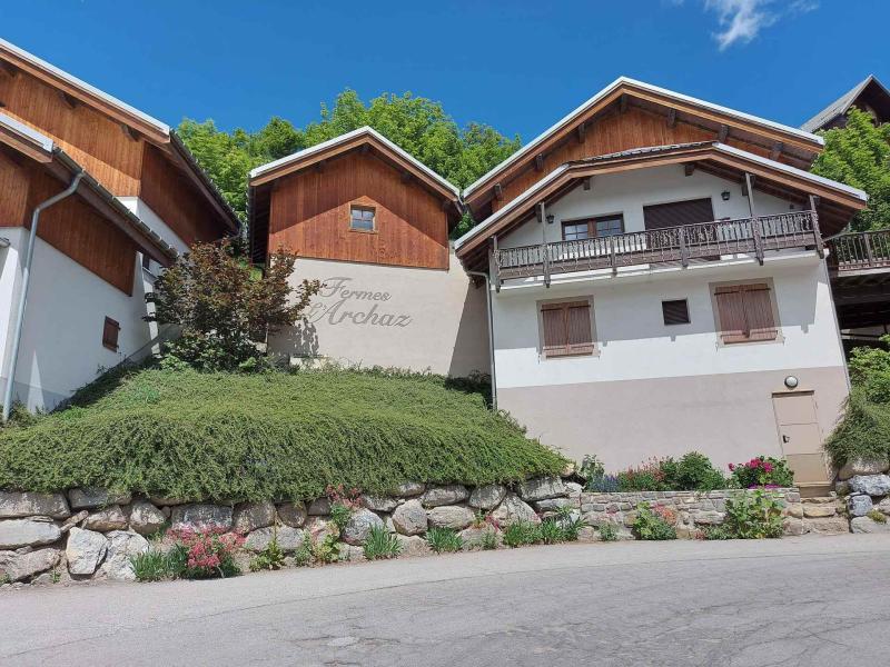 Аренда на лыжном курорте Les Fermes de l'Archaz - Valloire - летом под открытым небом
