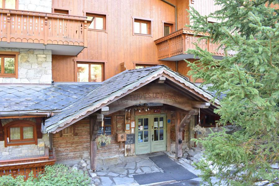 Vacances en montagne Appartement 3 pièces 6 personnes (13) - Les Fermes de Méribel Village - Méribel - Extérieur été