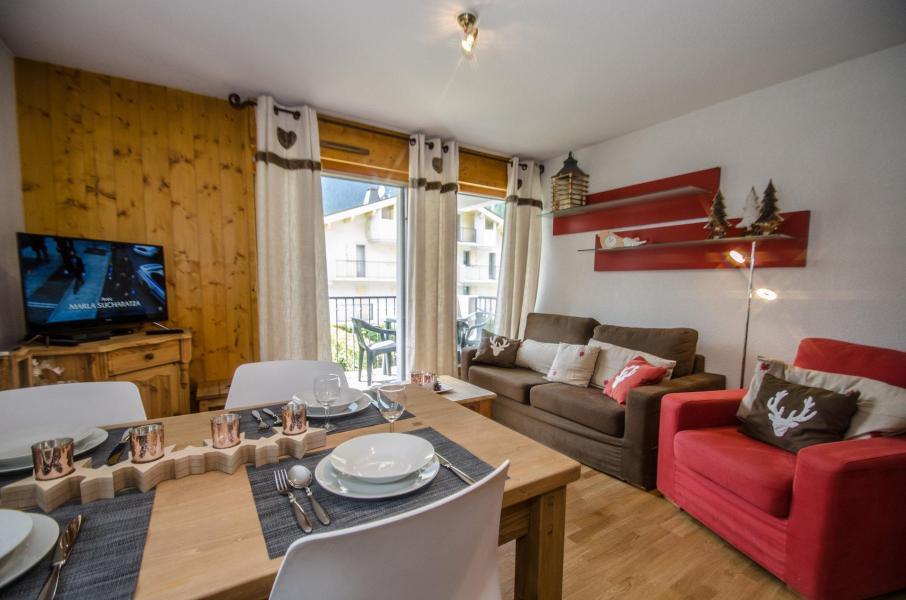 Wakacje w górach Apartament 3 pokojowy 4 osób (LITCHI) - Les Fermes de Montenvers - Chamonix - Pokój gościnny