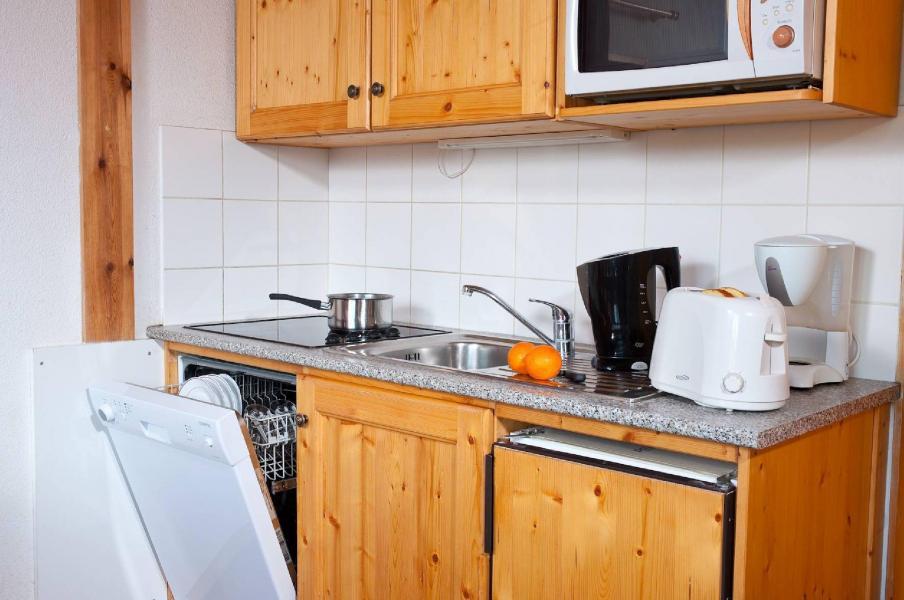 Holiday in mountain resort Les Fermes de Saint Sorlin - Saint Sorlin d'Arves - Kitchen