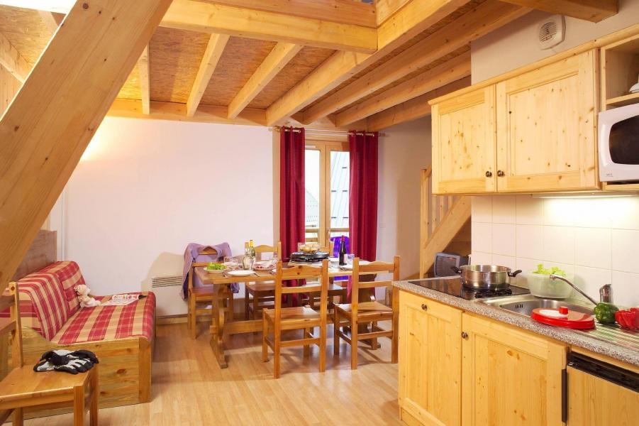 Holiday in mountain resort Les Fermes de Saint Sorlin - Saint Sorlin d'Arves - Living room