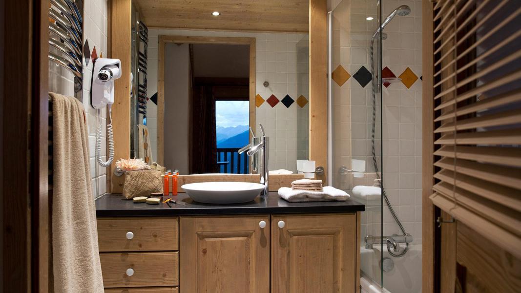Urlaub in den Bergen Les Fermes de Sainte Foy - Sainte Foy Tarentaise - Badezimmer