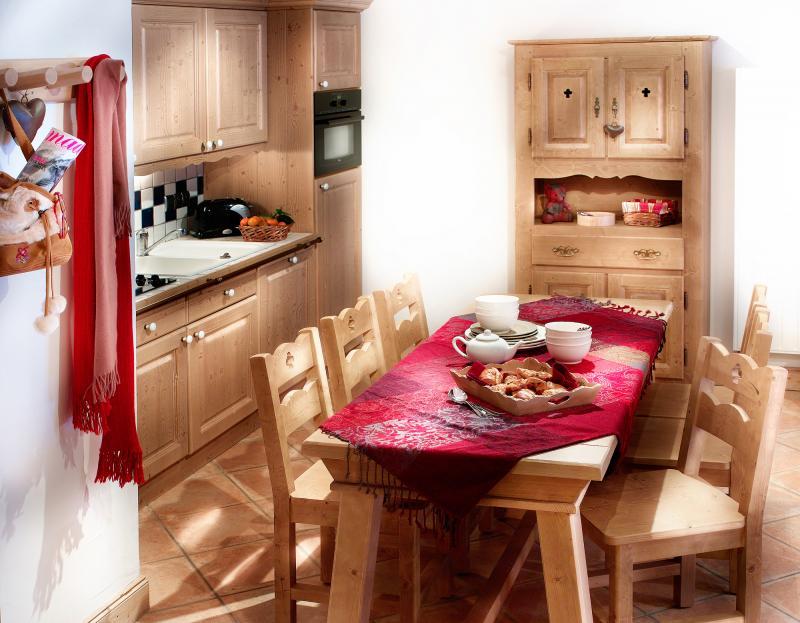 Urlaub in den Bergen Les Fermes de Sainte Foy - Sainte Foy Tarentaise - Küche