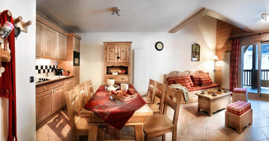 Urlaub in den Bergen Les Fermes de Sainte Foy - Sainte Foy Tarentaise - Wohnzimmer