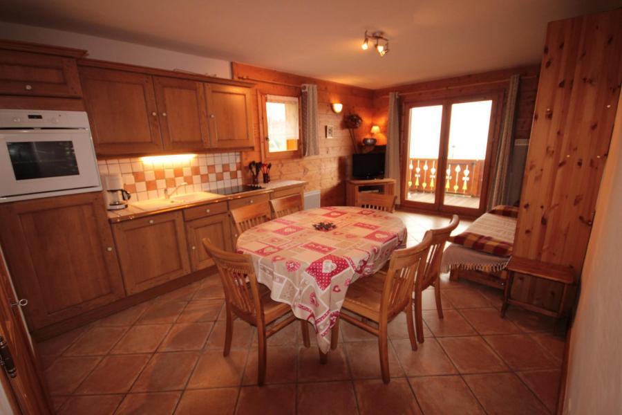 Vacaciones en montaña Apartamento 3 piezas para 6 personas (FERJ03) - Les Fermes du Beaufortain J - Les Saisies - Cocina