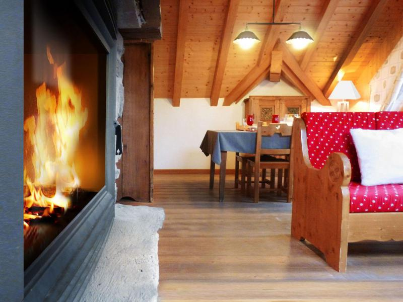 Holiday in mountain resort 3 room duplex apartment 6 people (1) - Les Fermes du Planet - Valloire - Accommodation