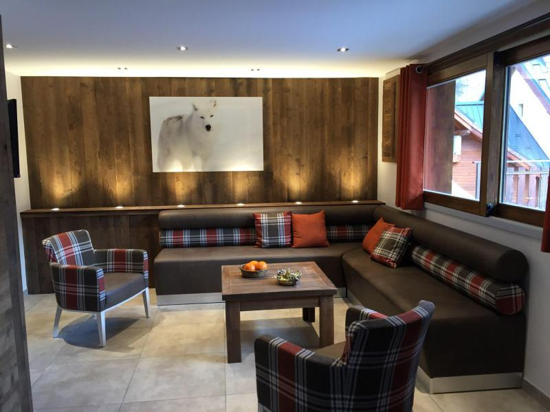Holiday in mountain resort 6 room apartment 12 people (5) - Les Fermes du Planet - Valloire - Living room