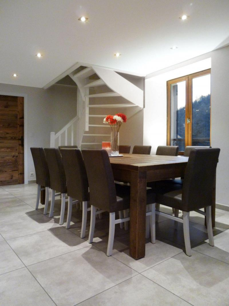 Holiday in mountain resort 6 room apartment 12 people (6) - Les Fermes du Planet - Valloire - Dining area
