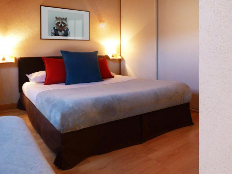 Holiday in mountain resort 6 room apartment 12 people (6) - Les Fermes du Planet - Valloire - Extra bed 1 person
