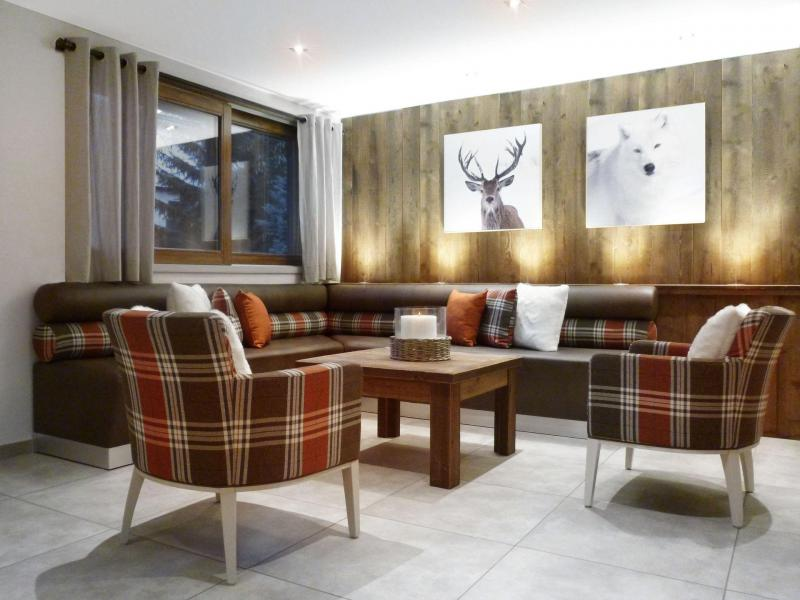 Holiday in mountain resort 6 room apartment 12 people (6) - Les Fermes du Planet - Valloire - Living room