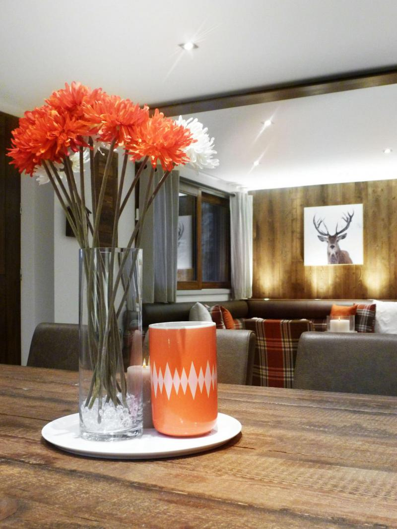 Holiday in mountain resort 6 room apartment 12 people (6) - Les Fermes du Planet - Valloire - Table
