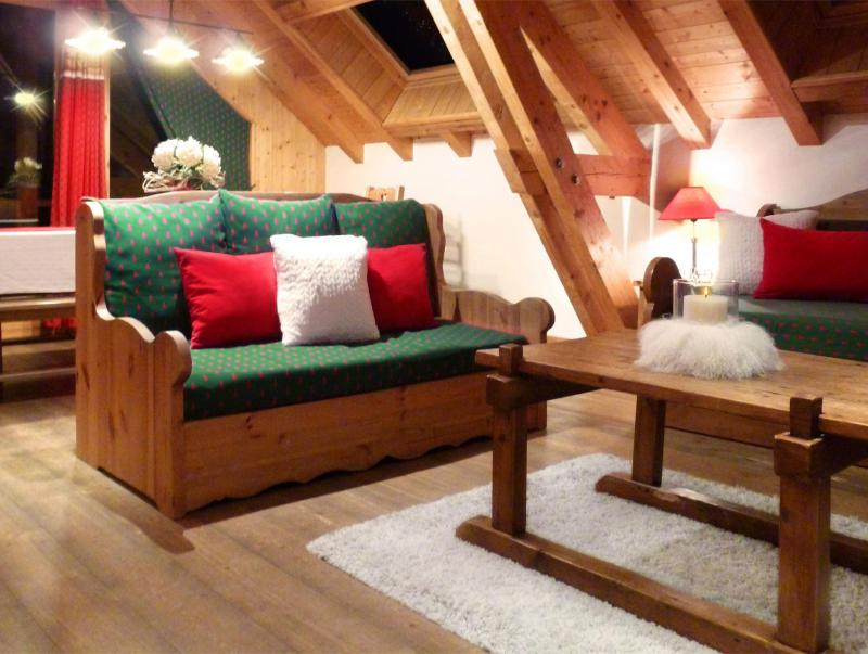 Holiday in mountain resort 6 room triplex apartment 12 people (3) - Les Fermes du Planet - Valloire - Bench seat