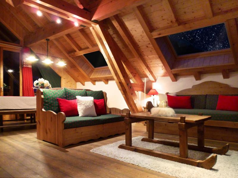 Holiday in mountain resort 6 room triplex apartment 12 people (3) - Les Fermes du Planet - Valloire - Living room