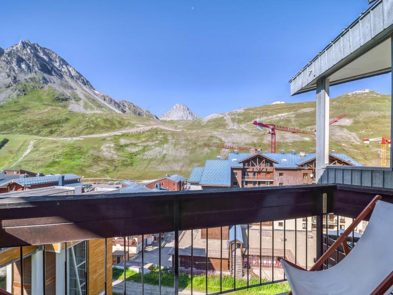 Wakacje w górach Apartament 2 pokojowy 6 osób (4) - Les Genepis - Tignes - Na zewnątrz latem