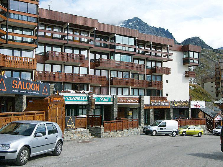 Holiday in mountain resort 1 room apartment 4 people (1) - Les Glaciers - Val Thorens - Summer outside