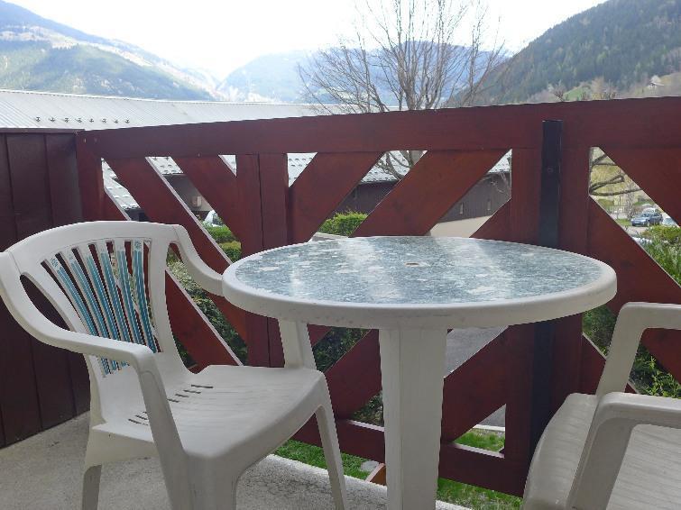 Vacaciones en montaña Apartamento 1 piezas para 4 personas (4) - Les Glières - Les Arcs - Balcón