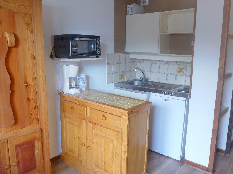 Vacaciones en montaña Apartamento 1 piezas para 4 personas (4) - Les Glières - Les Arcs - Cocina