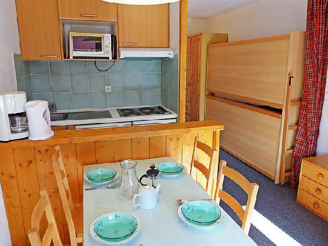 Vakantie in de bergen Appartement 1 kamers 4 personen (12) - Les Grandes Platières I et II - Tignes - Verblijf