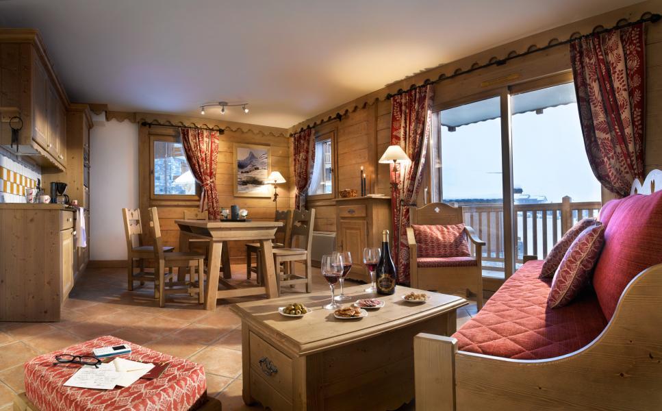 Urlaub in den Bergen Les Granges du Soleil - La Plagne - Wohnzimmer