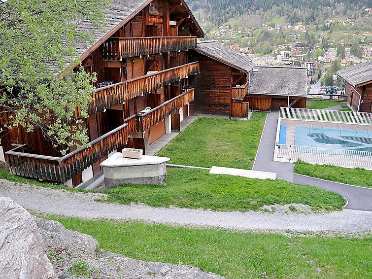 Holiday in mountain resort 1 room apartment 4 people (4) - Les Grets - Saint Gervais - Summer outside