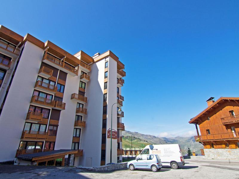 Holiday in mountain resort 2 room apartment 6 people (2) - Les Hauts de Chavière - Val Thorens - Summer outside