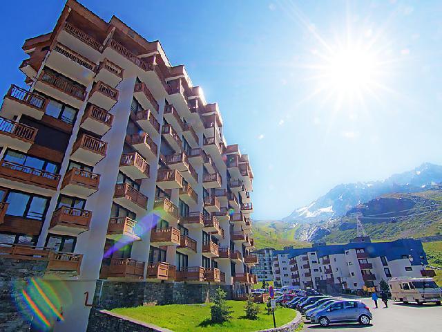 Vakantie in de bergen Appartement 2 kamers 6 personen (2) - Les Hauts de Chavière - Val Thorens - Buiten zomer