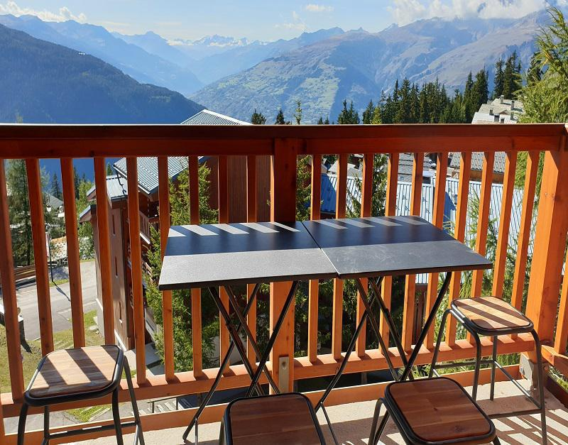 Vakantie in de bergen Studio mezzanine 6 personen (515) - Les Hauts de la Rosière - La Rosière - Buiten zomer
