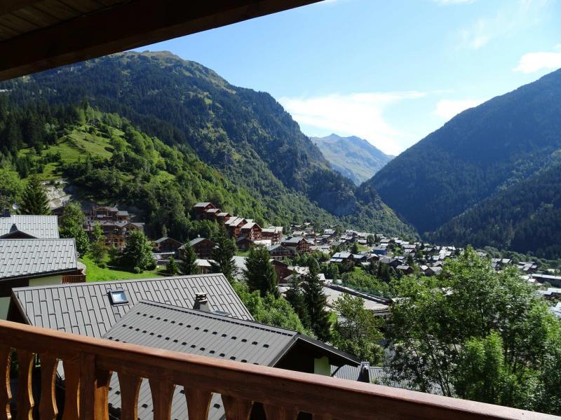 Vacaciones en montaña Apartamento 3 piezas para 4 personas (D18) - Les Hauts de Planchamp - Champagny-en-Vanoise - Verano