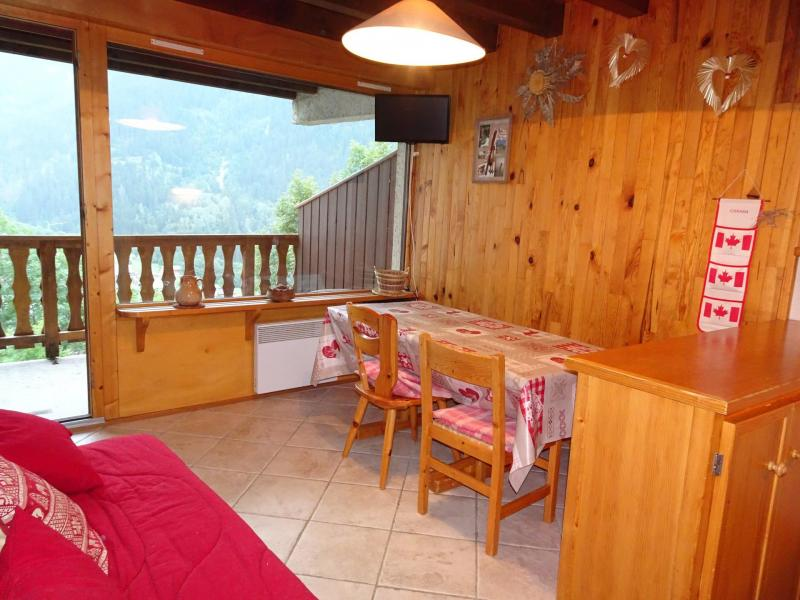 Wakacje w górach Apartament 3 pokojowy 4 osób (D18) - Les Hauts de Planchamp - Champagny-en-Vanoise - Jadalnia