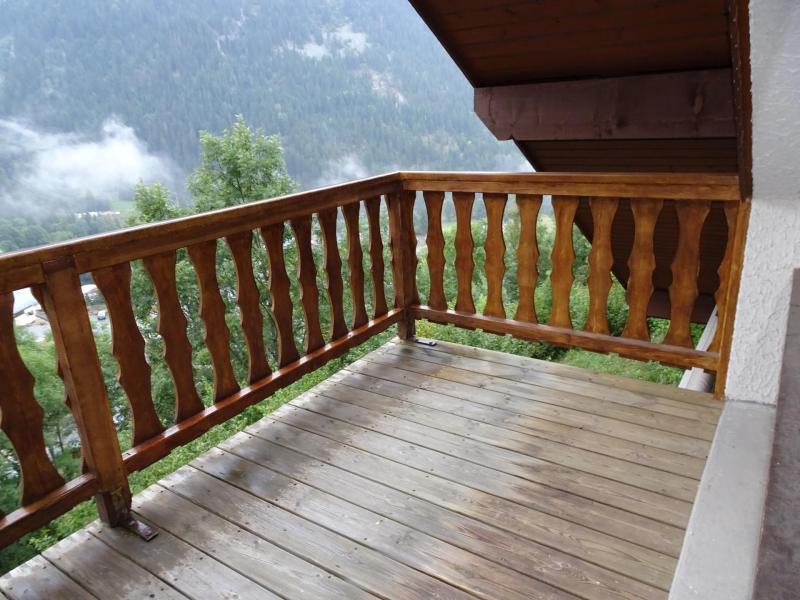 Vacaciones en montaña Apartamento 3 piezas para 4 personas (D18) - Les Hauts de Planchamp - Champagny-en-Vanoise - Balcón